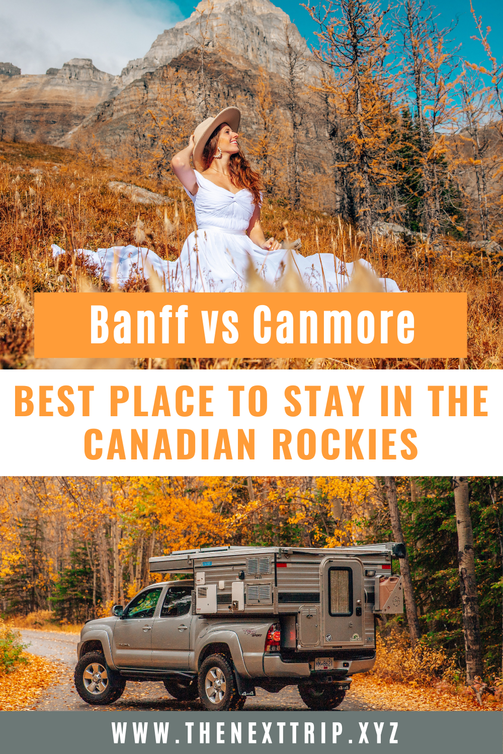 Canmore vs Banff - the best place to stay as a base to explore the Canadian Rockies, what to do in each town, and most frequently answered questions. | Banff vs Canmore | What to see in Canmore | What to see in Banff | Moraine Lake | Lake Louise | Things to do in Banff | Things to do in Canmore