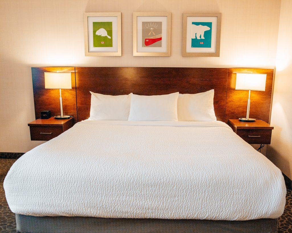 Hotel Room at the Crimson Hotel in Jasper