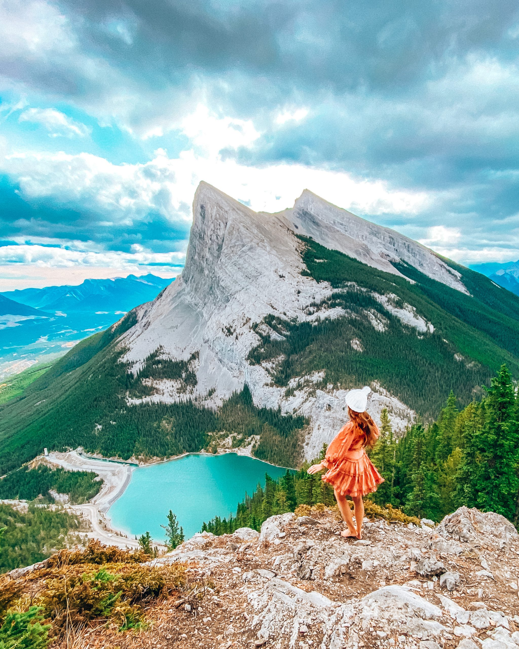 View of East of Rundle Hike