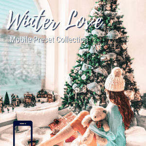Winter Mobile Lightroom Presets Collection