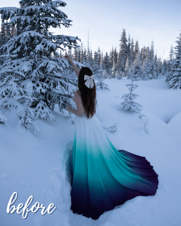 Winter Love Mobile Lightroom Preset Collection - Afternoon in the Snow Before