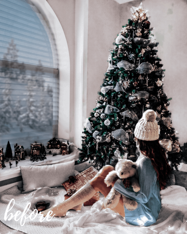 Winter Love Mobile Lightroom Preset Collection - Indoor Christmas Vibes Before