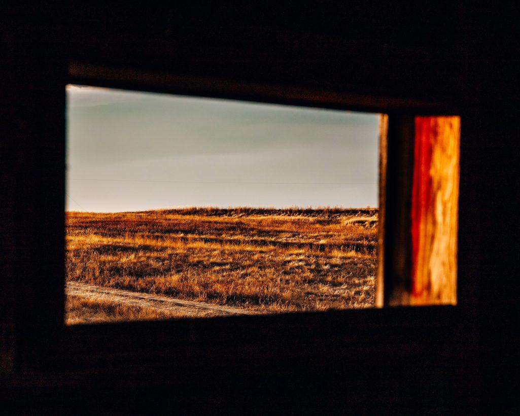 Abandoned House Window Bents Saskatchewan