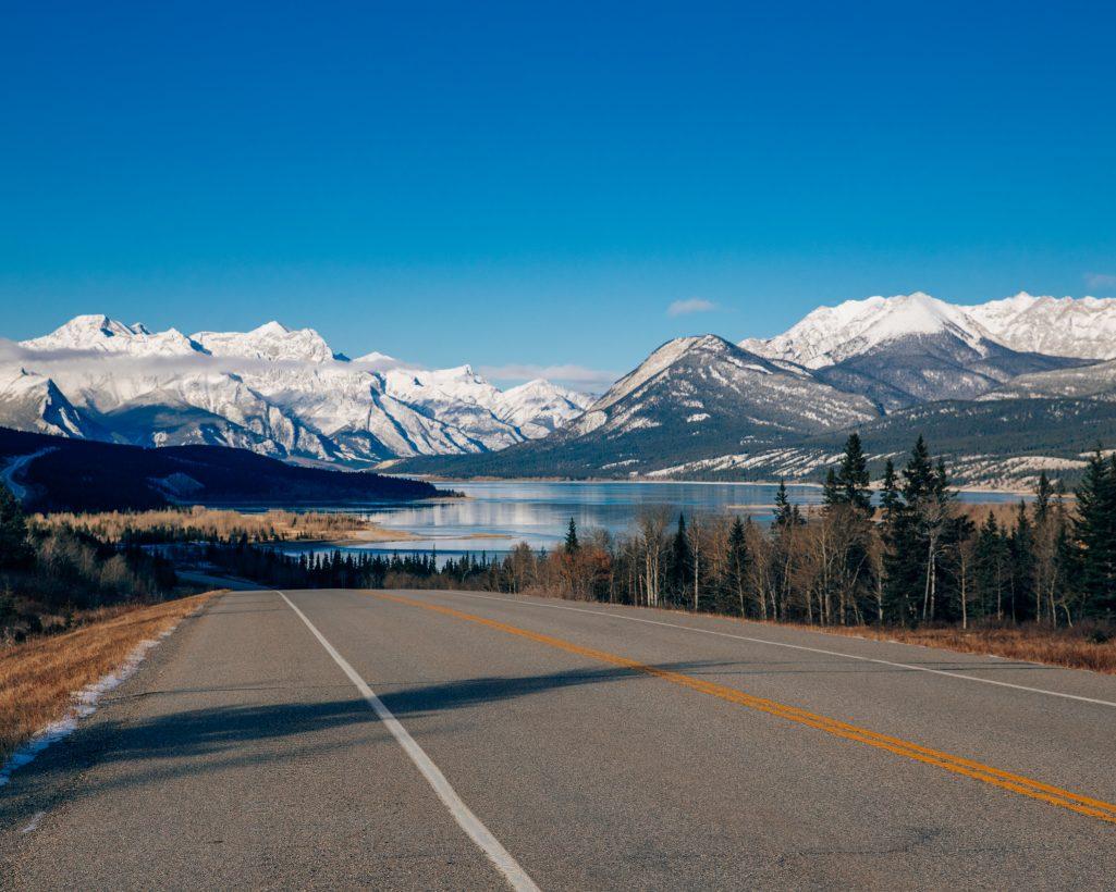 Abraham Lake View Alberta