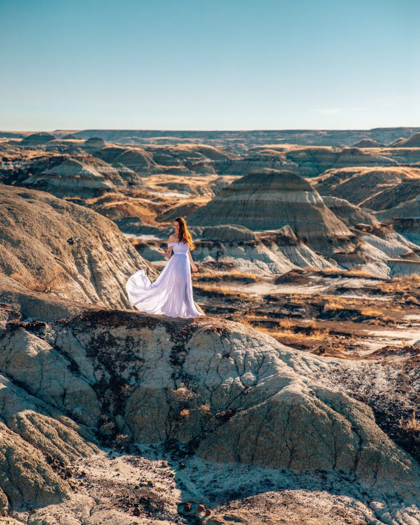 Badlands at Dinosaur Provincial Park Alberta
