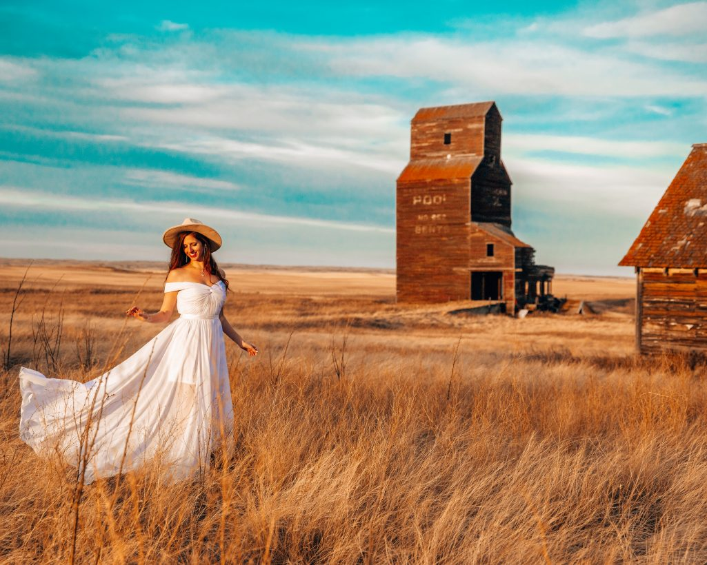 Grain Elevator at Bents Saskatchewan
