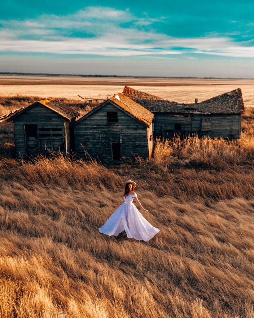 Bents Saskatchewan Farm Buildings