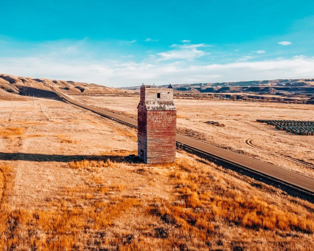 Grain Elevator at Dorothy Alberta