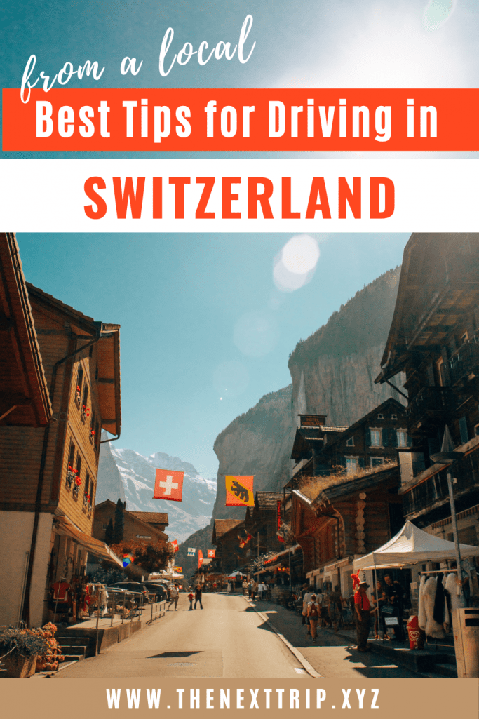Best 10 Tips for Driving in Switzerland