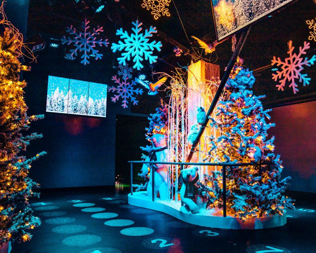 FlyOver Canada Christmas Decoration Vancouver