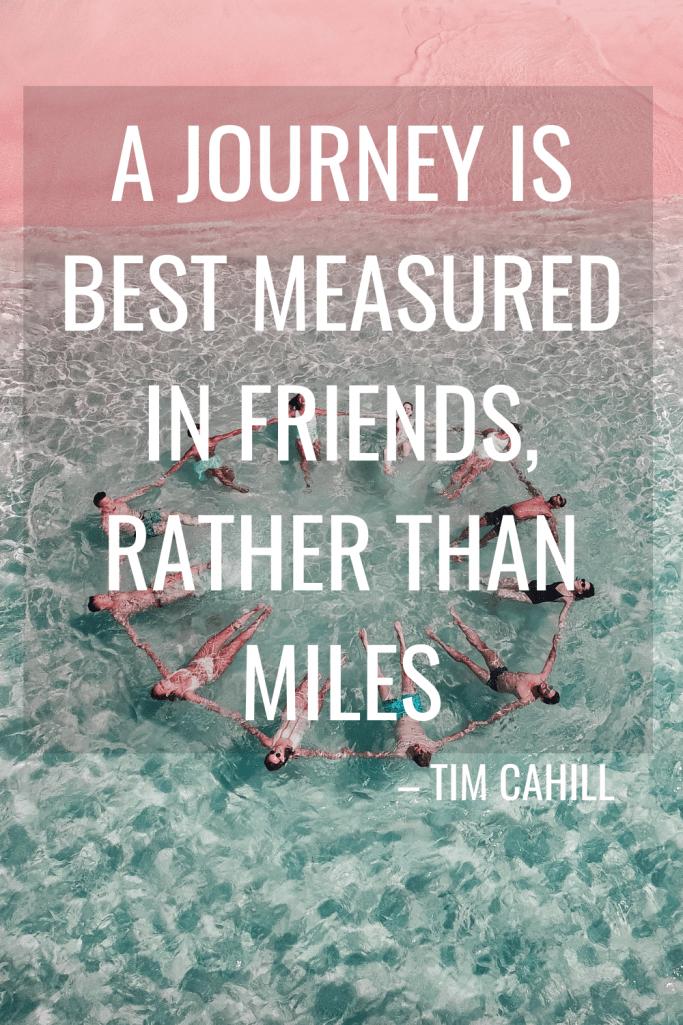 Inspirational Friend Travel Captions for Instagram