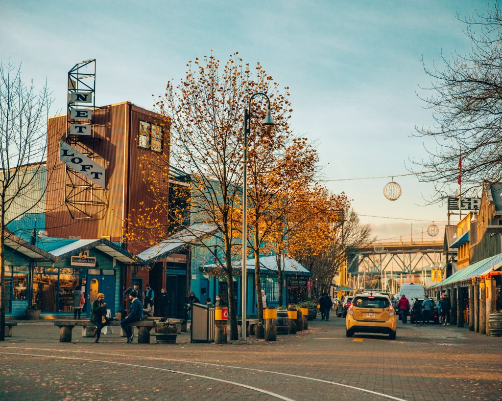 Granville Island in Downtown Vancouver