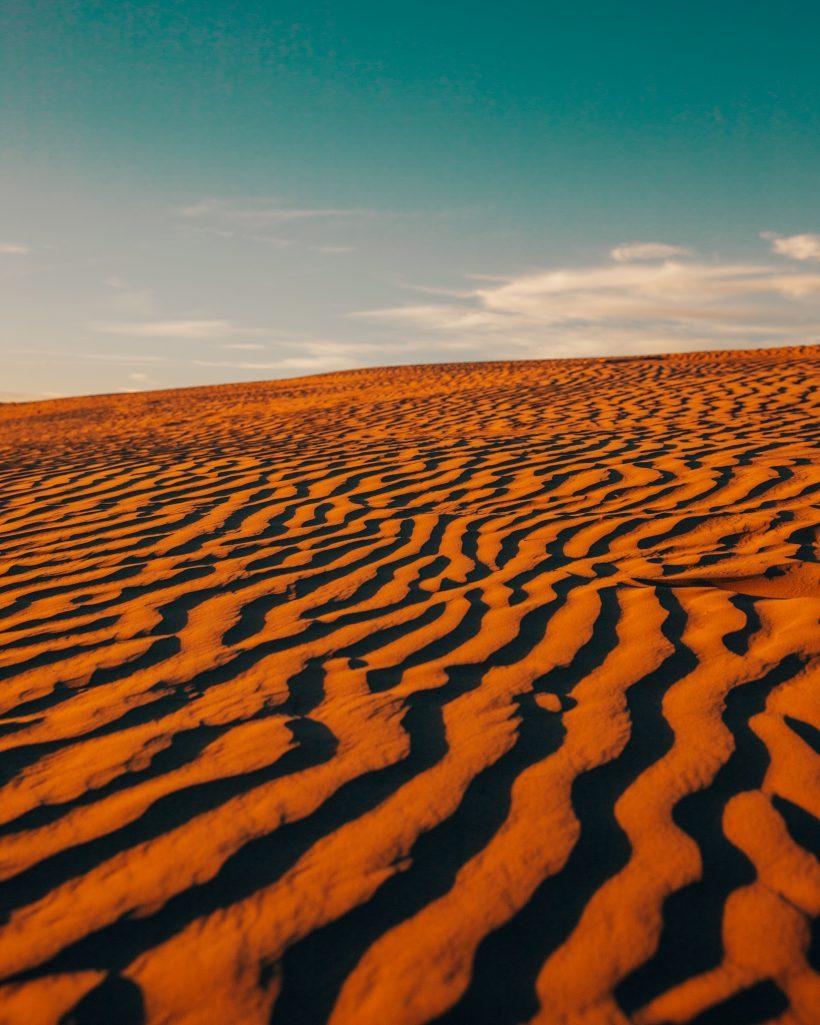 Sand Waves Great Sand Hills Saskatchewan