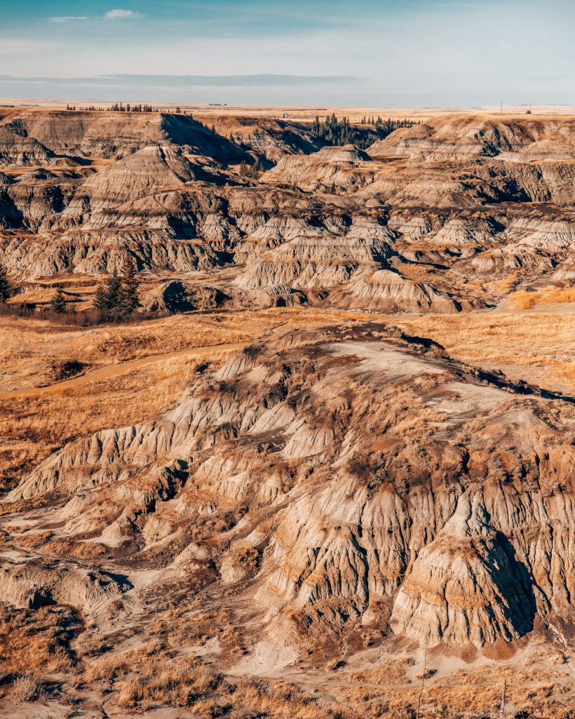 Horseshoe Canyon Alberta Badlands