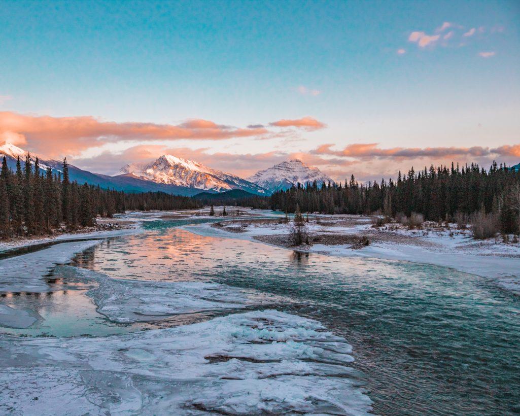 Jasper National Park Sunset