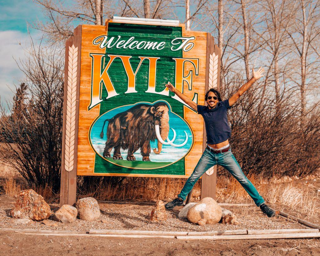 Welcome to Kyle Saskatchewan Sign
