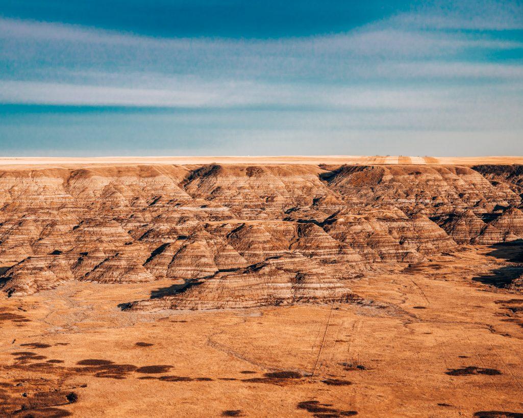 Orkney Viewpoint in Drumheller Alberta