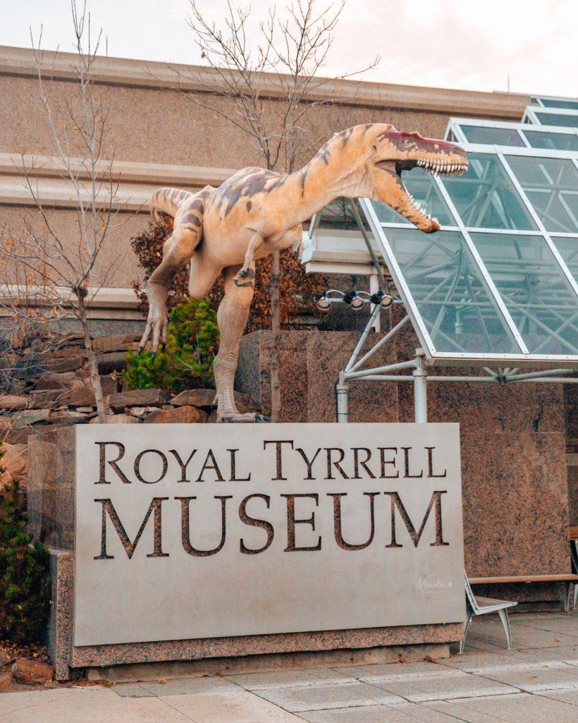 Royal Tyrrell Museum in Drumheller Alberta