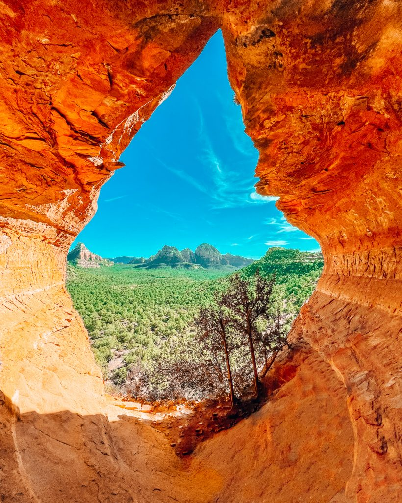 Birthing Cave Sedona Arizona