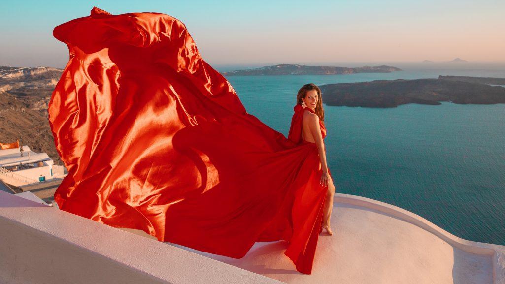 Santorini Dress 1