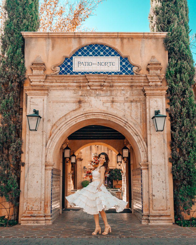 Entrance to Tlaquepaque in Sedona, Arizona