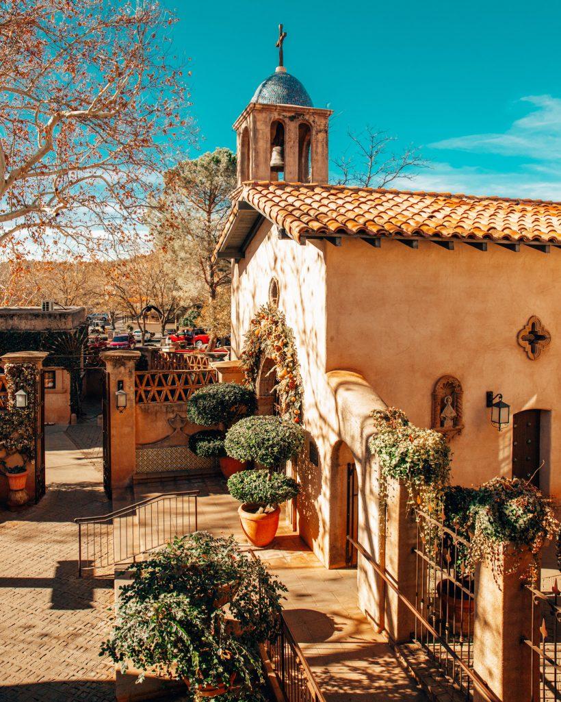 Tlaquepaque Shopping Area in Sedona Arizona