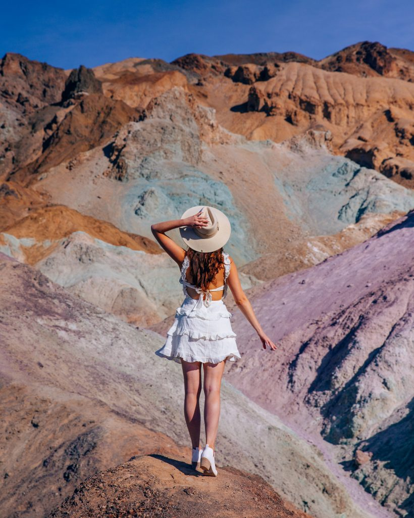 One Day in Death Valley Itinerary Artists Palette Colors