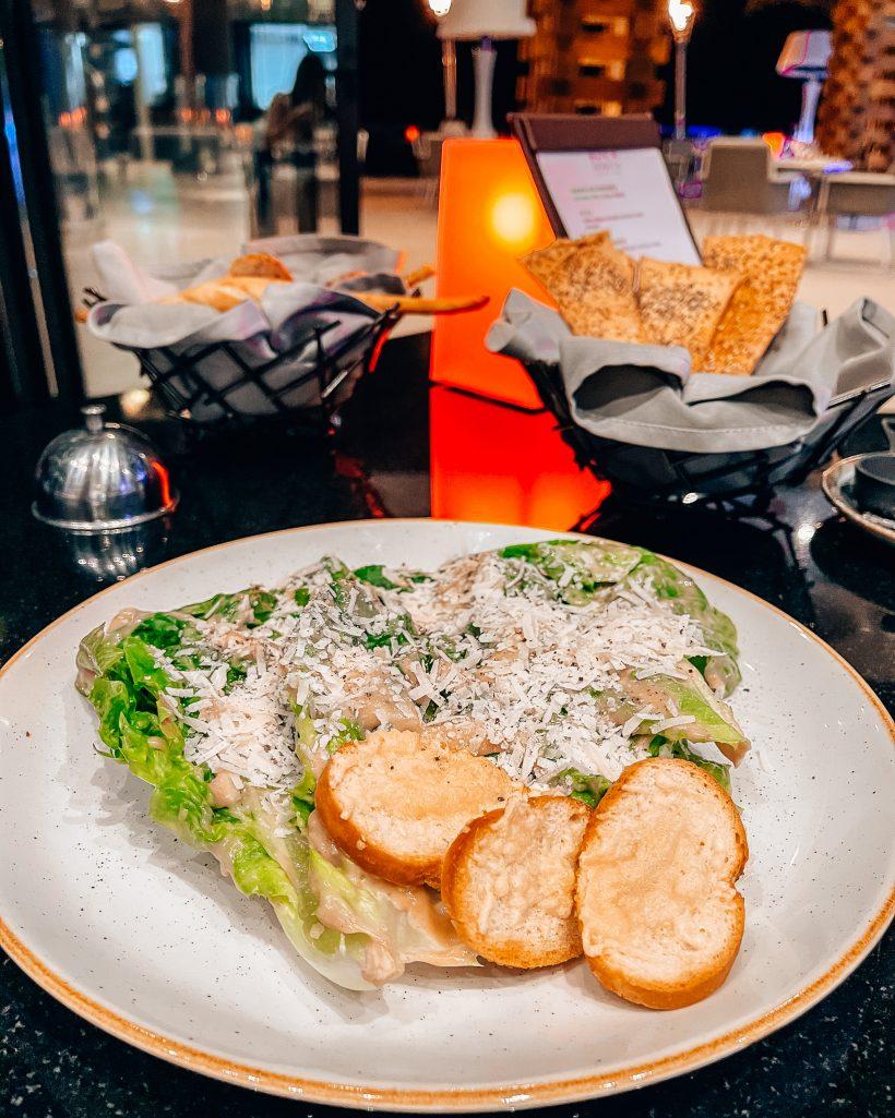 Garza Blanca Los Cabos Ceasar Salad