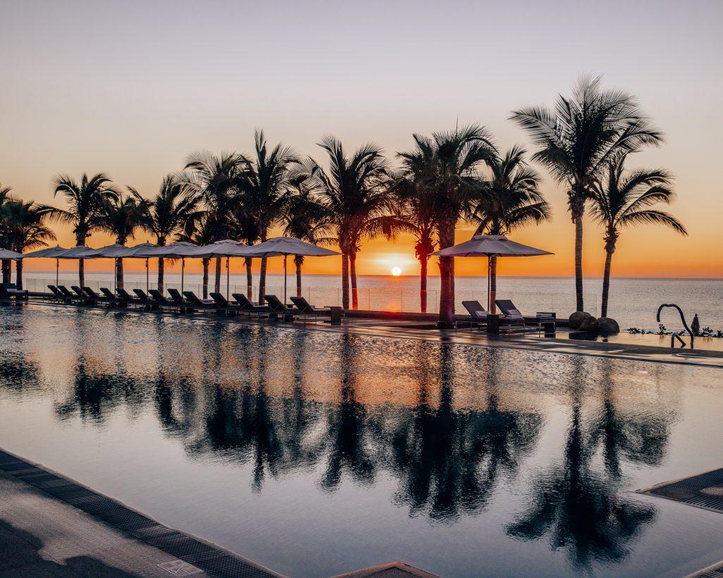 Sunrise at Garza Blanca Los Cabos