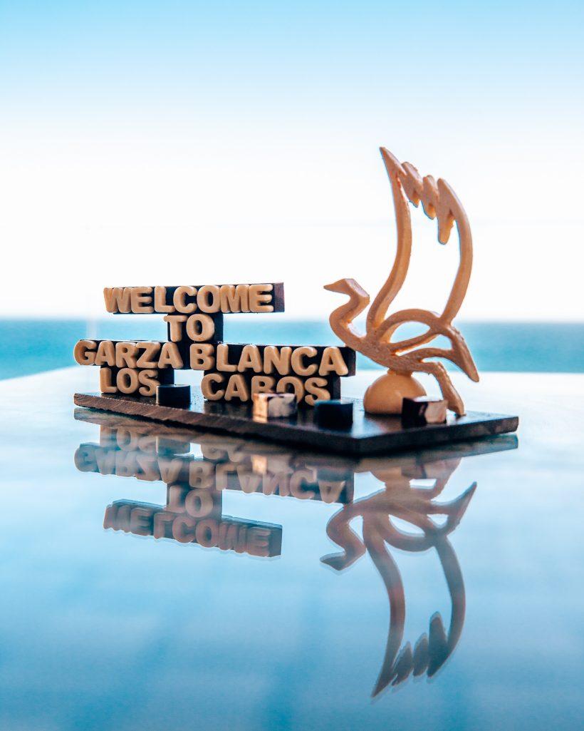 Garza Blanca Los Cabos Welcome Amenity