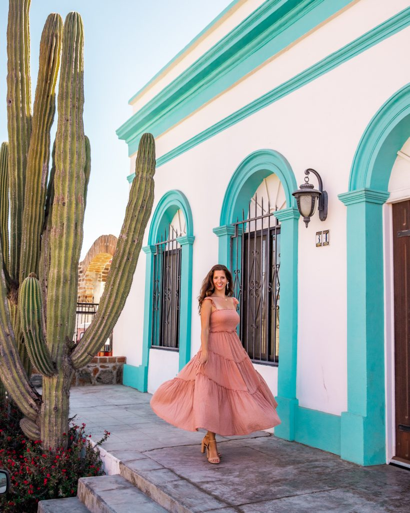 Colorful Houses in Todos Santos