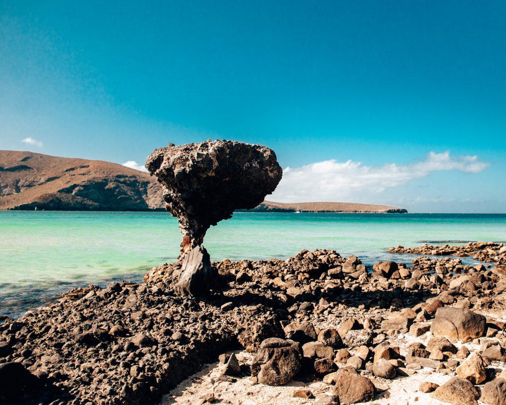 El Hongo at Balandra Beach