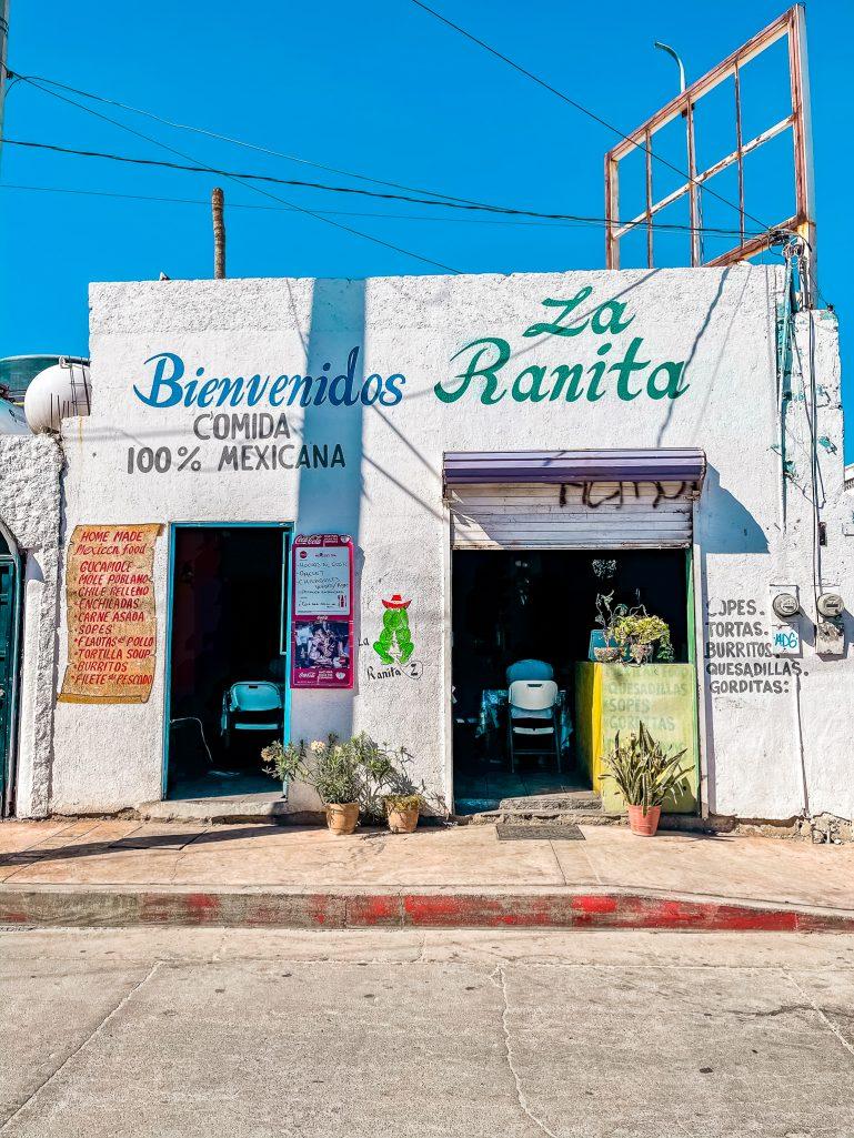 La Ranita, Cabo San Lucas Itinerary