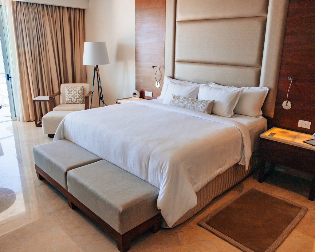 King Bed Room at Le Blanc Cabo