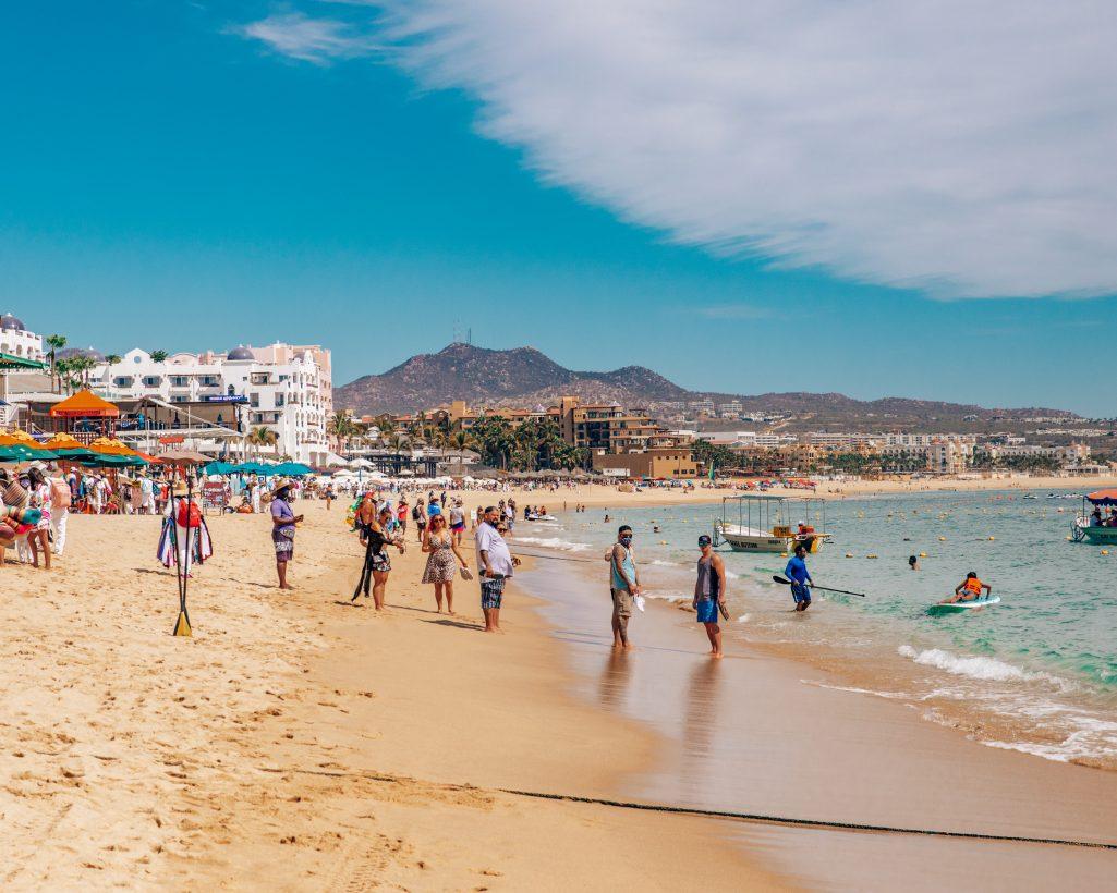 Beach Vendors on Medano Beach Cabo San Lucas