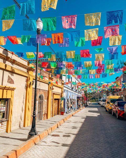 Street in Todos Santos Baja California