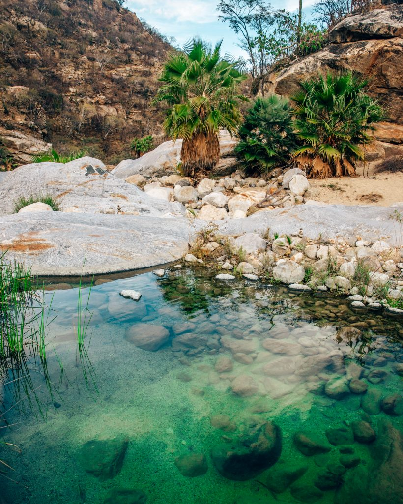 Oasis at Santiago Waterfall Cascada Sol de Mayo