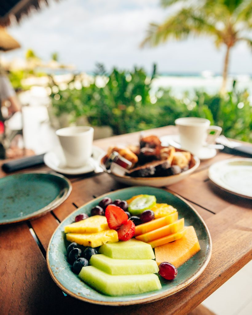 Breakfast Flamingo Island