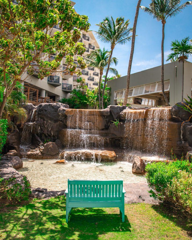 Hilton Aruba Waterfall