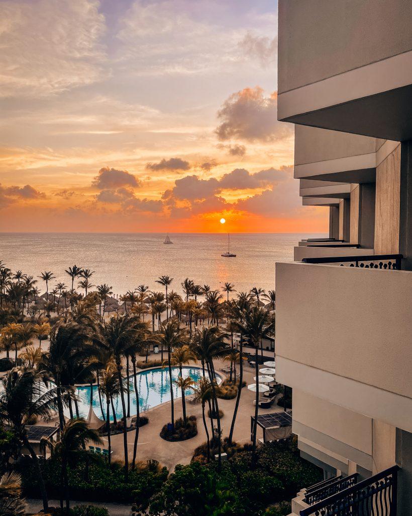 Hilton Aruba Room View