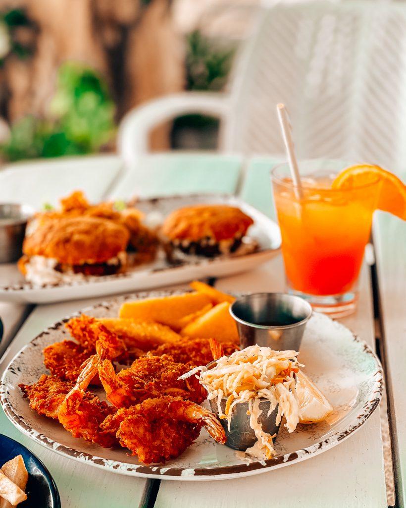Hilton Aruba Coconut Shrimp