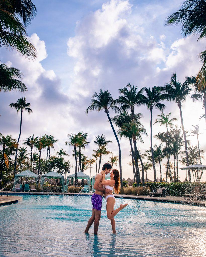 Hilton Aruba Pools