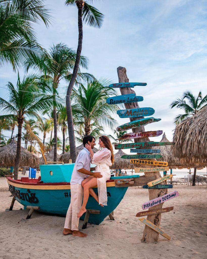 Hilton Aruba Boat