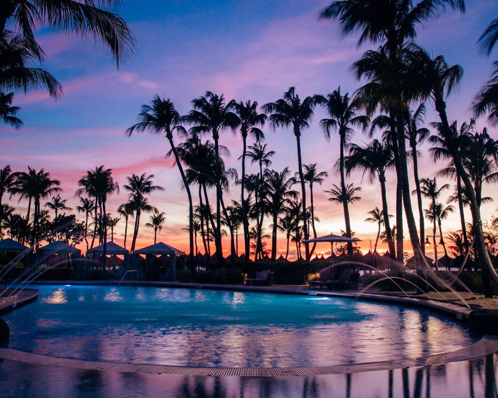 Hilton Aruba Sunset