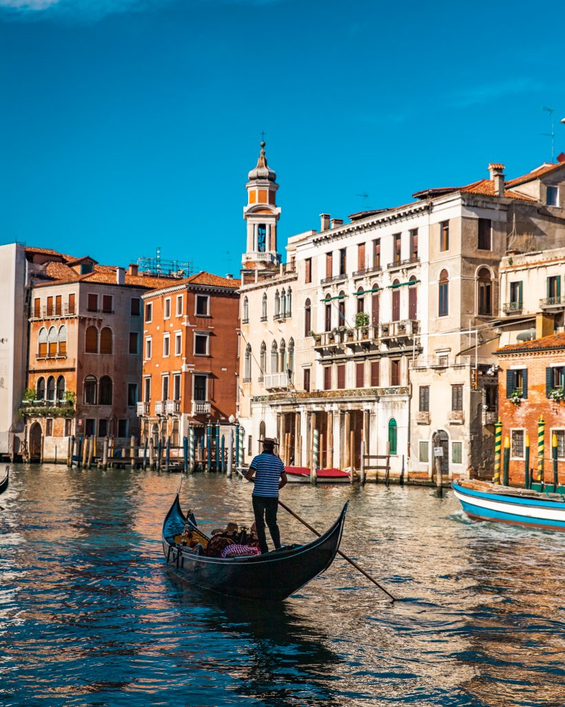 Venice Gondola at Sunset Couple Travel Bucket List