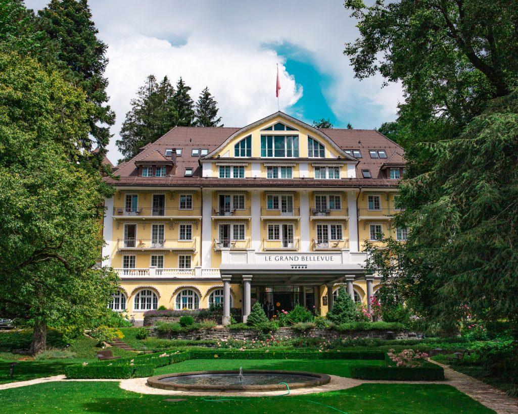 Couple Travel bucket list Switzerland hotel