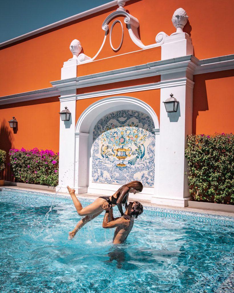 Pool at Solar de las Animas in Tequila