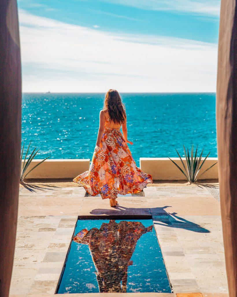 Luxury Cabo Resort lobby