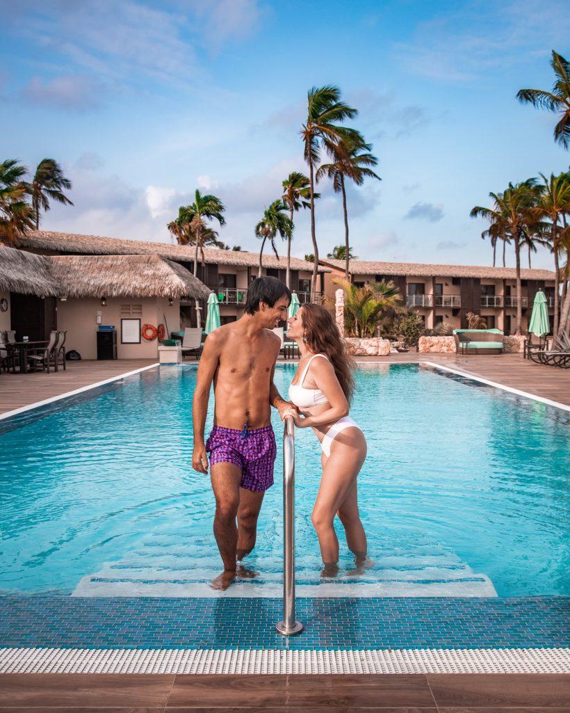 Manchebo Beach Resort Aruba Pool