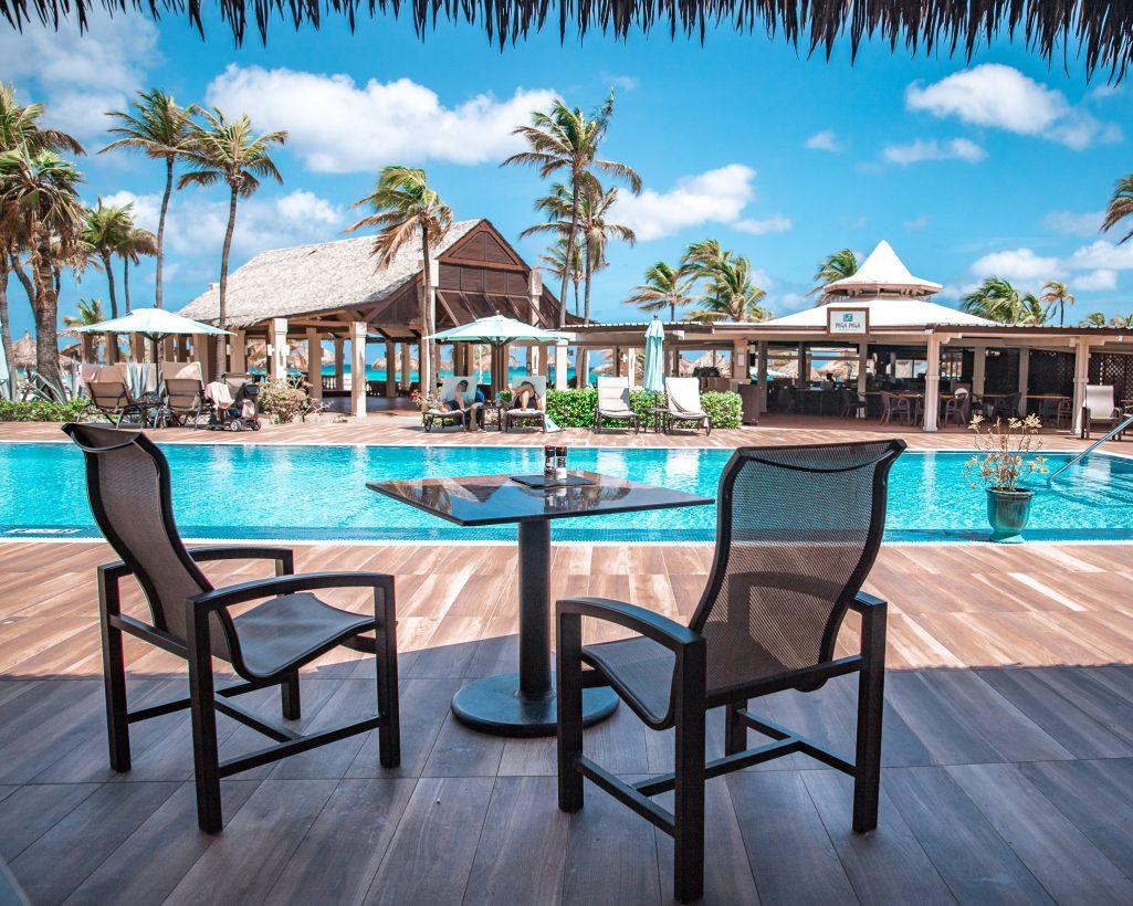 Manchebo Beach Resort Pool